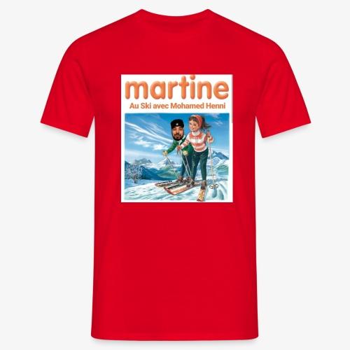 Martine-SkiAvecHenni - T-shirt Homme