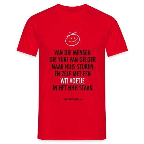 vdm-vangelder-witvoetje - Mannen T-shirt
