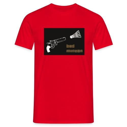 shirt motiv badminton jpg - Männer T-Shirt