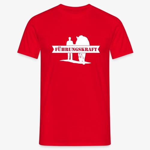 Vorschau: Führungskraft Pferd male - Männer T-Shirt