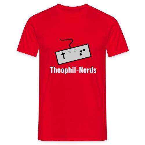 Theophil-Nerds Logo - Männer T-Shirt