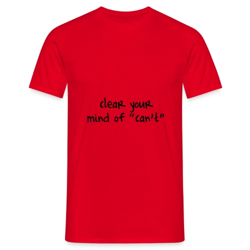 Clear Your mind - T-shirt herr