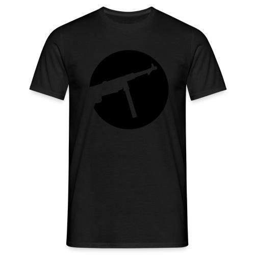 Mp40 german gun maschinenpistole 40 ww2 - Men's T-Shirt