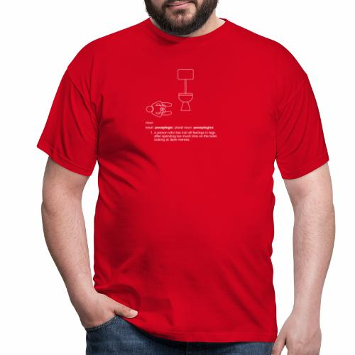 pooplegic dank meme white - Men's T-Shirt