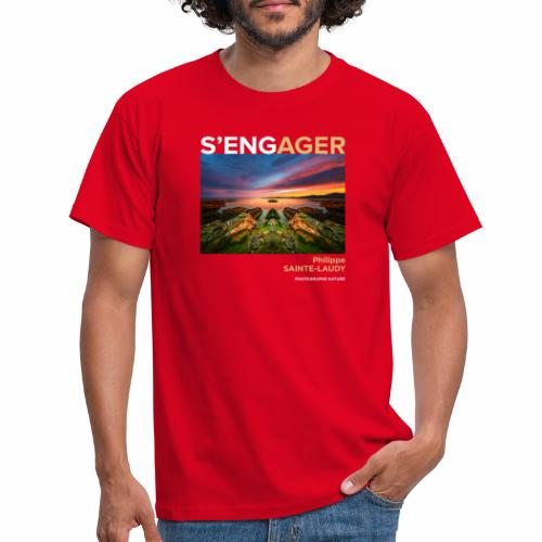 1 Achat = 1 Don à l'association Coeur de forêt - T-shirt Homme