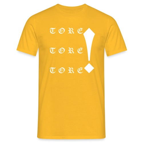 Tore! Tore! Tore! - Männer T-Shirt