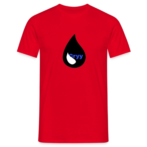 Cryy Logo - Männer T-Shirt