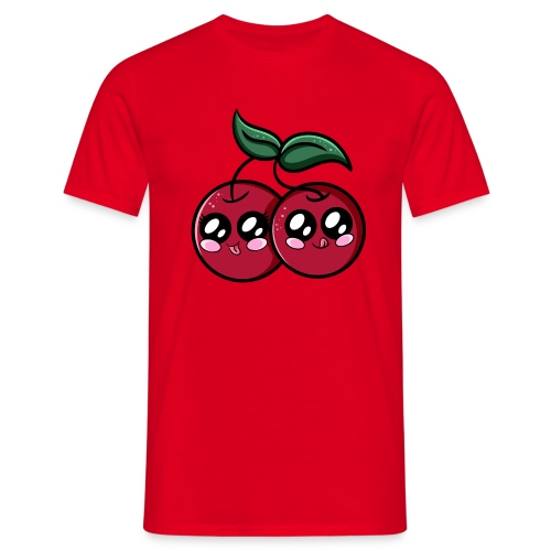 Cerises Kawaii ! - T-shirt Homme