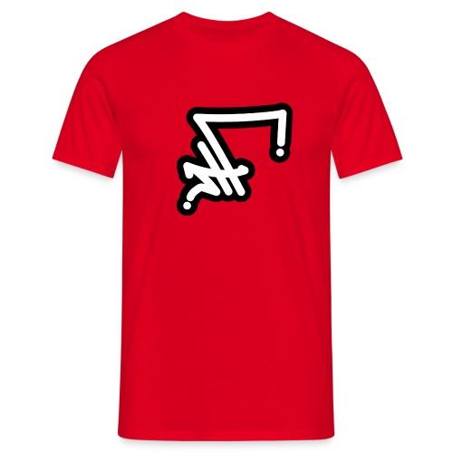 STF TAG - WH BLK-01 - Männer T-Shirt