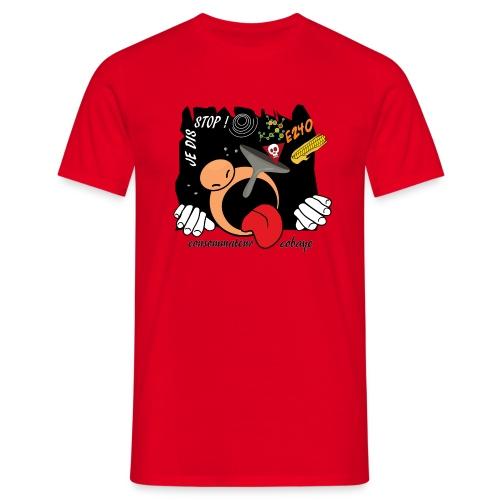 consommateur cobaye - T-shirt Homme