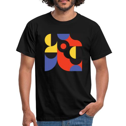 Bauhaus no 1 - Herre-T-shirt