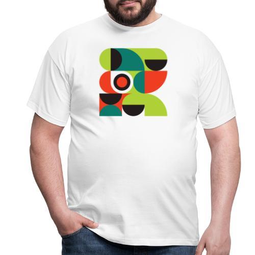 Bauhaus no 2 - Herre-T-shirt