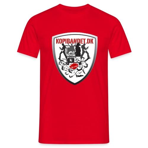 KopiBandet.DK Våbenskjold - Herre-T-shirt