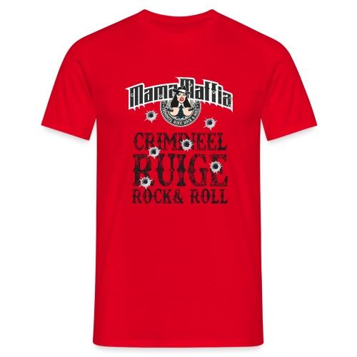 Crimineel Ruige Rock & & Roll Shirt - Mannen T-shirt