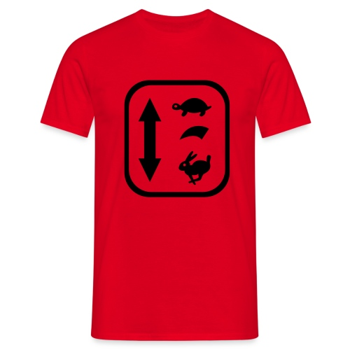 traktor schaltung - Männer T-Shirt