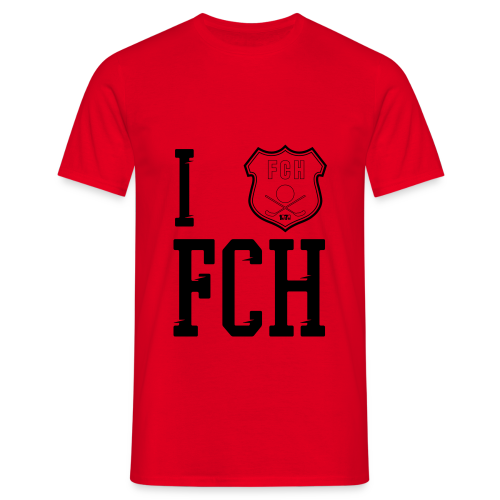 heartfch2 - T-shirt herr