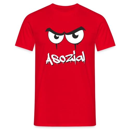Asozial - Männer T-Shirt