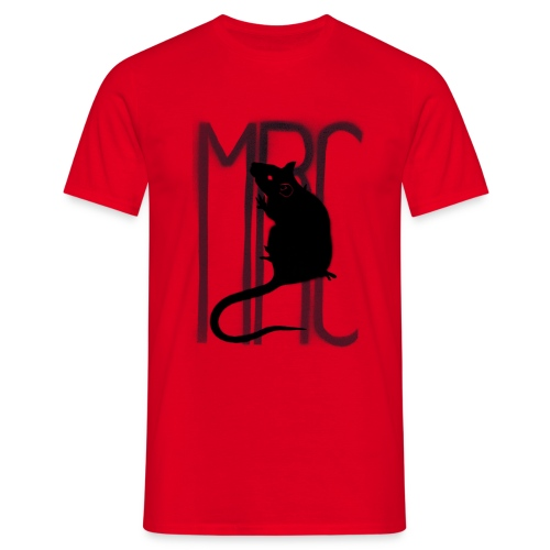 MRC Banksy rat black - Men's T-Shirt
