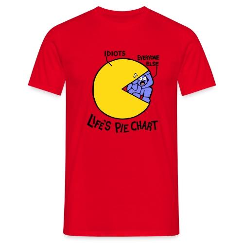 Life's Pie Chart - Men's T-Shirt