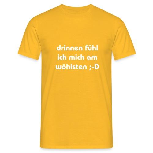 lustiger perverser text - Männer T-Shirt