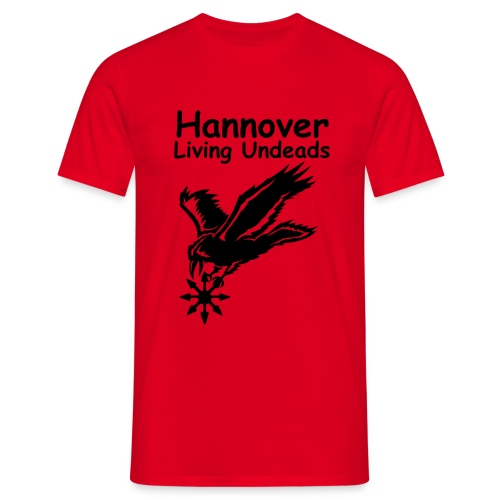 chaosrabetextfinal - Männer T-Shirt