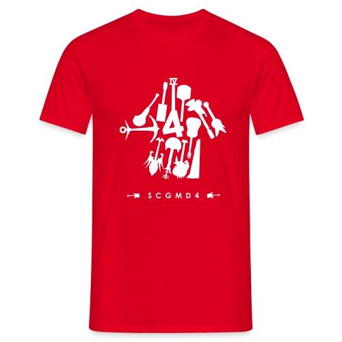 Guitar Arrow - Men's T-Shirt
