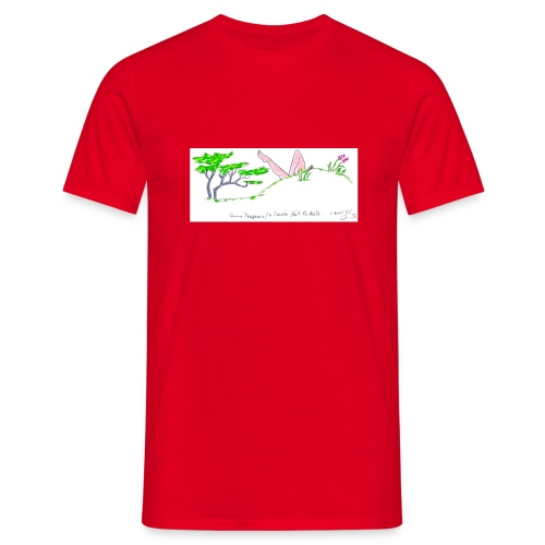 paysage - T-shirt Homme