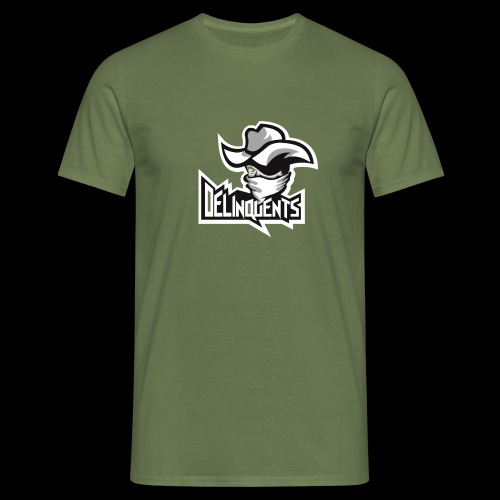 Delinquents TriColor - Herre-T-shirt
