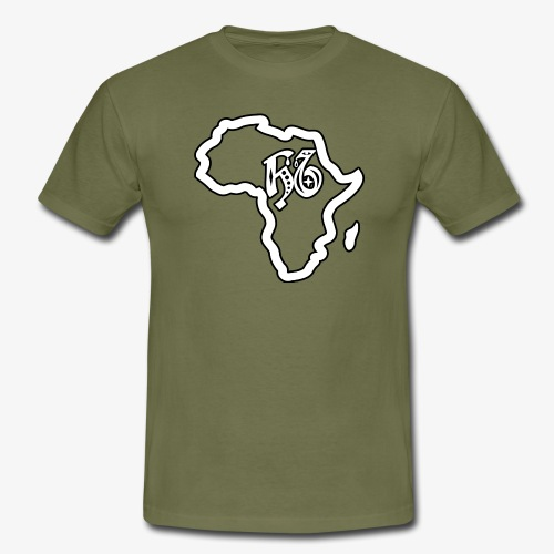 afrika pictogram - Mannen T-shirt