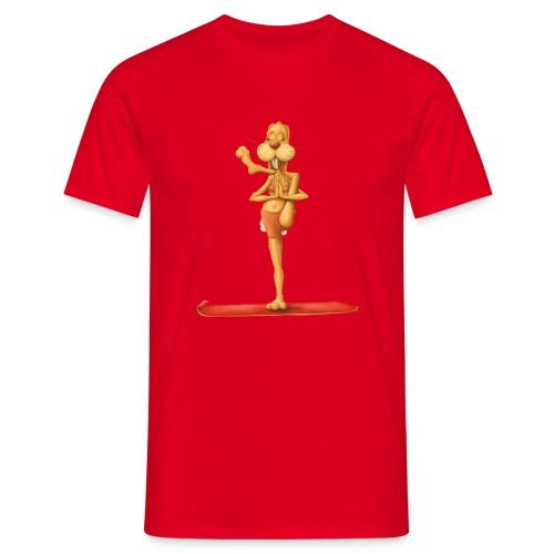 Yoga - Rabbit - Männer T-Shirt