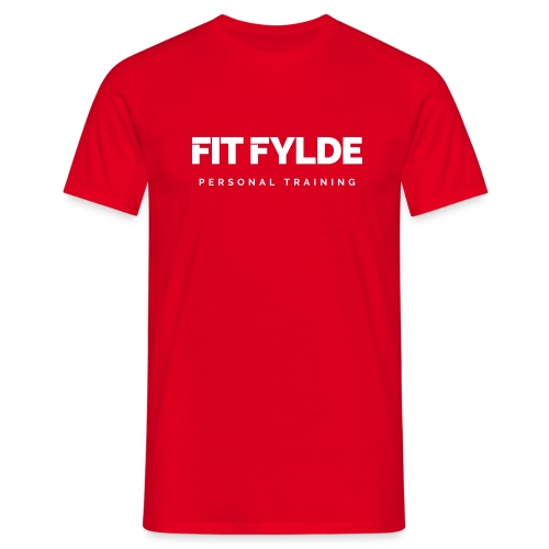 Fit Fylde Logo - Men's T-Shirt