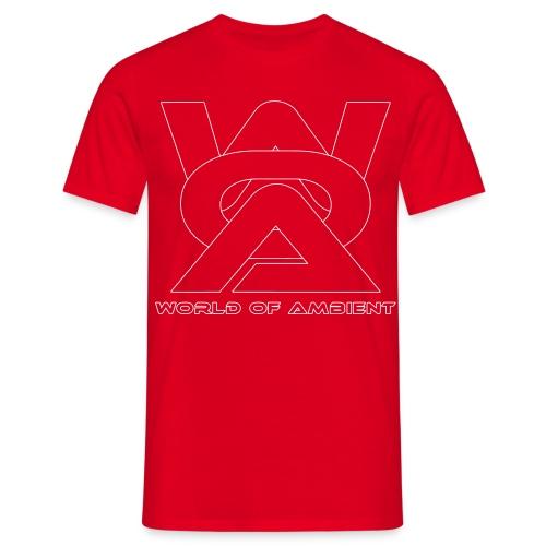 woa logo outlines - Men's T-Shirt