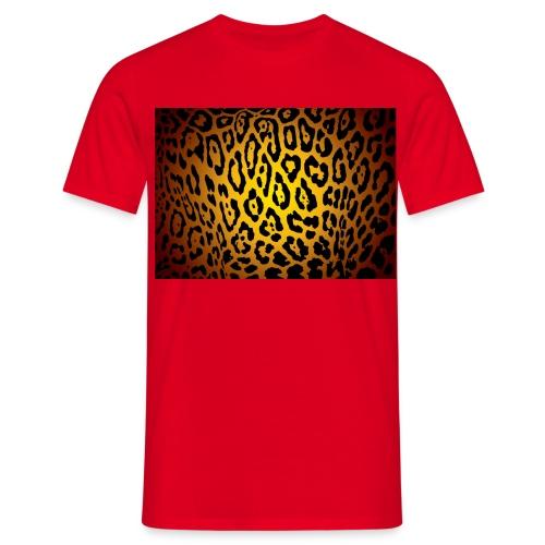 t-shirt léopard - T-shirt Homme