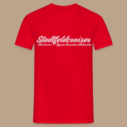 Logo Oldschool für dunkle - Männer T-Shirt