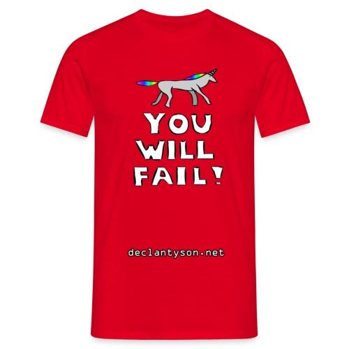 youwillfail - Men's T-Shirt