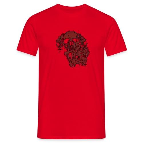 15xd red skull logo tp - Men's T-Shirt