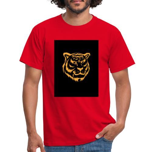 gold tiger - Camiseta hombre