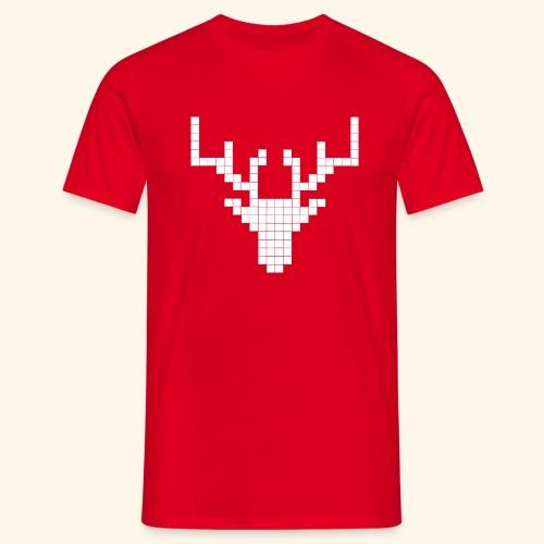 PIXELHIRSCH - only - Männer T-Shirt