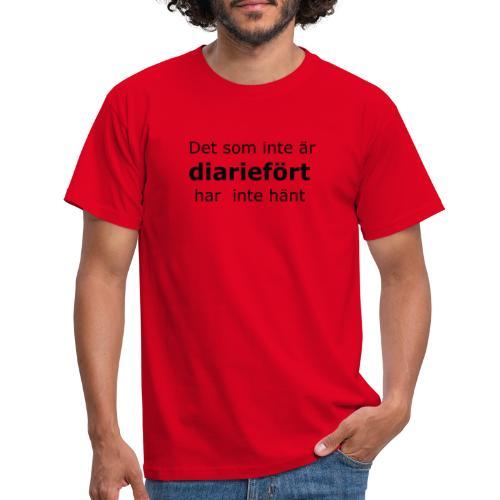 Diariefört - T-shirt herr
