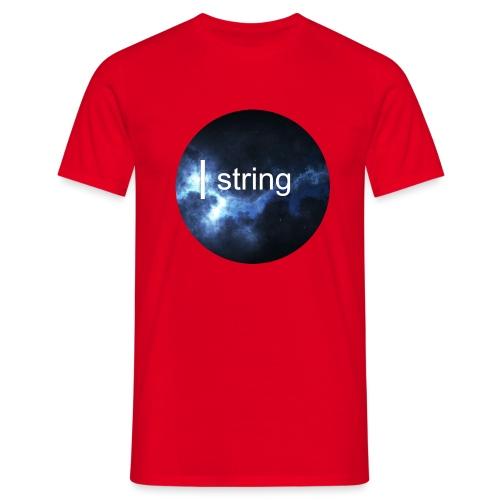string Circle - Men's T-Shirt
