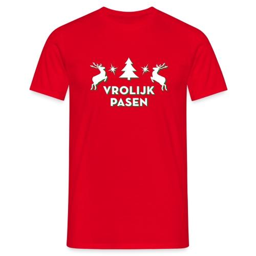 Vrolijk Pasen - Mannen T-shirt