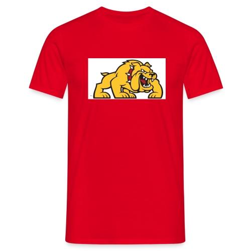Bulldog logo ml - Camiseta hombre