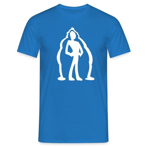 logo2 vit - T-shirt herr