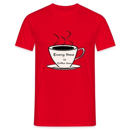 kaffe - T-shirt herr