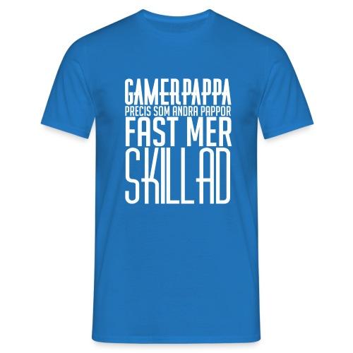 Gamerpappa - T-shirt herr