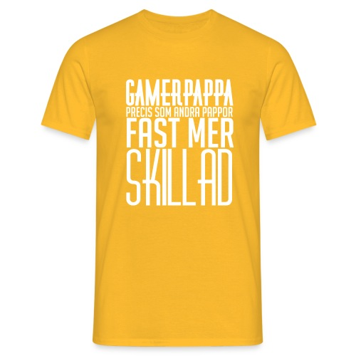 Gamerpappa - T-shirt herr