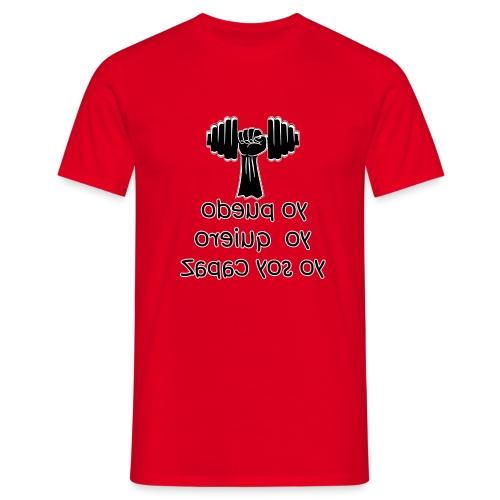 Para el Espejo: GYM - YO PUEDO - Camiseta hombre