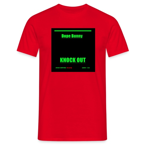 Dope Bunny Knock Out - Männer T-Shirt
