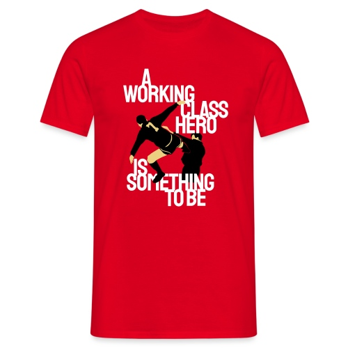 Working Class Hero (Eric Cantona) - Men's T-Shirt