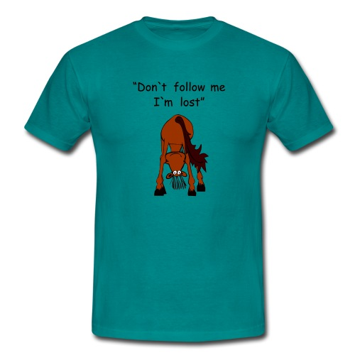 lost - Männer T-Shirt